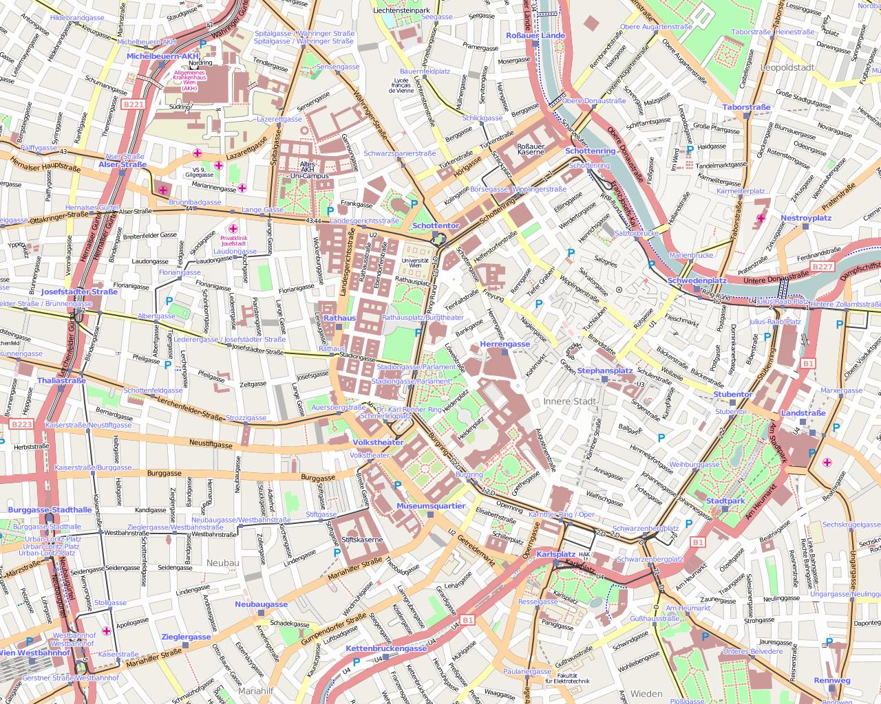 Online Floorplan Pressemitteilung Wien Openstreetmap